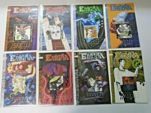 Enigma set #1 to #8 all 8 different books 8.0 VF (1993)