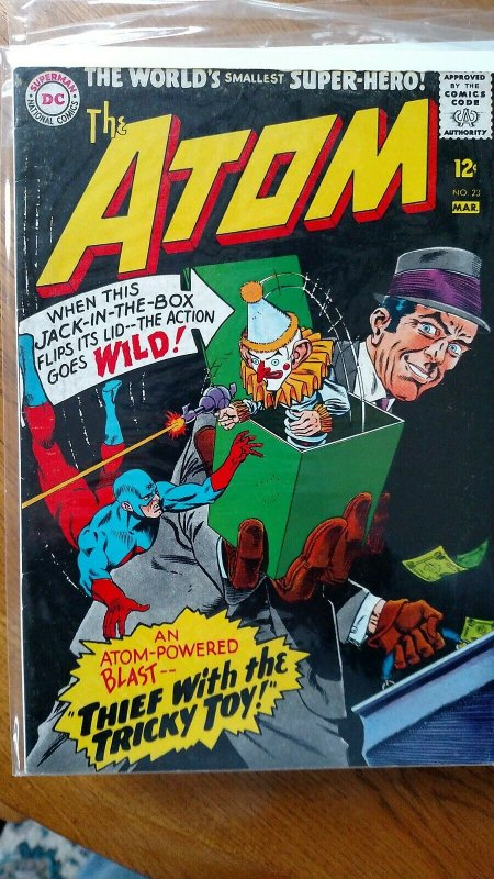 The Atom #23 (DC, 1966) Condition: VG/FN
