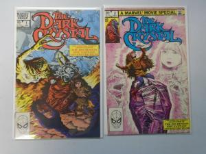 Dark Crystal set #1+2 8.0/VF (1983)