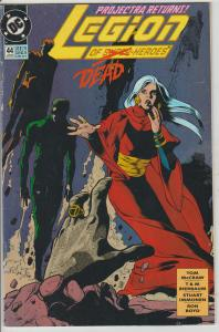 LEGION OF SUPER-HEROES #44 - BAGGED & BOARDED