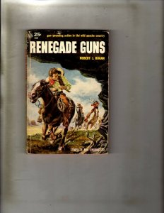 2 Pocket Books Renegade Guns, Station West JL22