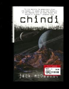 CHINDI HARDCOVER Novel Jack McDevitt ACE Book Sci-Fi 2002 J381