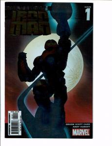 5 Marvel Comics # 1 2 4 7 Ultimate Iron Man Extinction Origins Ultimates 2 J99