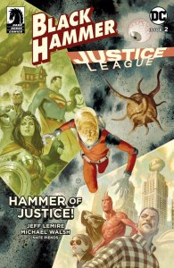 Black Hammer Justice League #2 Cvr E Scalera (Dark Horse, 2019) NM