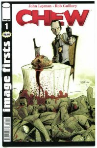 CHEW #1, NM, Image Firsts, Rob Guillory, John Layman, 2010, more in our store