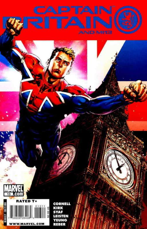 Captain Britain and MI:13 #13 VF/NM; Marvel | save on shipping - details inside