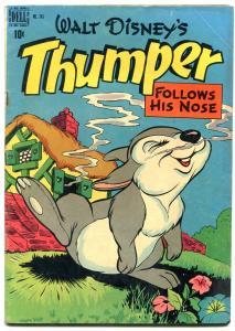 Thumper Follows his Nose- Dell Four Color Comics #243 1949- Disney VG+