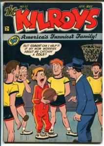 Kilroys #17 1949-ACG-basketball cover-FN