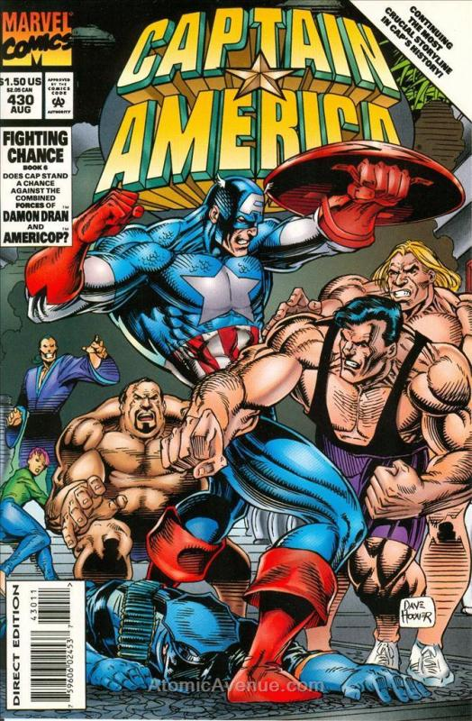 Captain America (1st Series) #430 VF/NM; Marvel | save on shipping - details ins