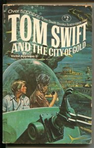 Tom Swift and The City Of Gold #5557 1972-Tempo Books #2-1sr edition-VG