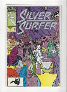 Silver Surfer #4 (Oct 1987) Marvel)Marshall Rogers NM