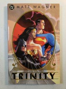 BATMAN/SUPERMAN/WONDER WOMAN - TRINITY MATT WAGNER HARD COVER GRAPHIC NOVEL NM