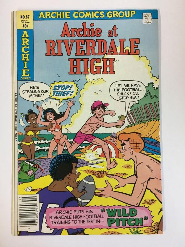 ARCHIE AT RIVERDALE HIGH (1972-1987)67 VF-NM   Oct 1979 COMICS BOOK