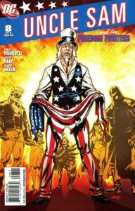 Uncle Sam and the Freedom Fighters (2007 series) #8, VF+ (Stock photo)