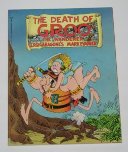 Death of Groo The Wanderer 2nd Printing 1987 Marvel Epic Graphic Novel VF