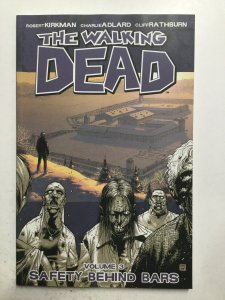 The Walking Dead Safety Behind Bars Volume 3 Tpb Softcover Dc Near Mint Nm Image