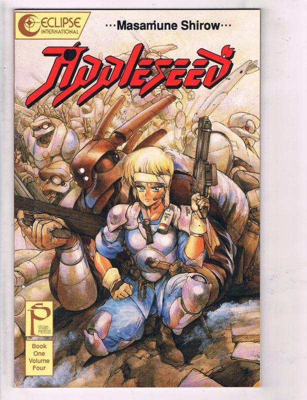 Appleseed Book One 1 Volume Four 4 Nm Eclipse Comic Book Masamune Shirow Hj3 Hipcomic