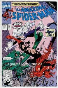 Amazing SPIDER-MAN #342, NM, Larsen, Black Cat, 1963, more ASM in store