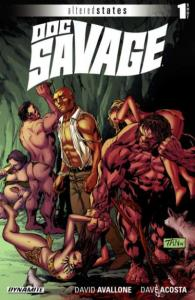 Altered States: Doc Savage #1, NM + (Stock photo)