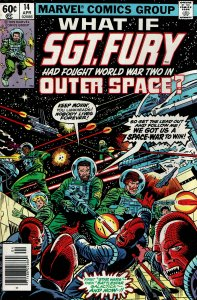 What If... #14 - VF - Sgt. Fury had fought World War II in Outer Space?