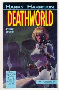 Deathworld (1990 1st Series) #1-4 VG-VF Complete series