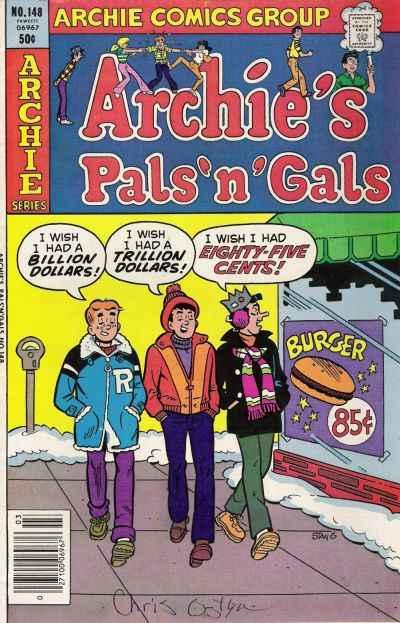 Archie's Pals 'N' Gals #148, VF+ (Stock photo)