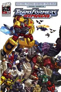 Transformers—Armada: More Than Meets The Eye #1 VF/NM; Dreamwave   save on shipp