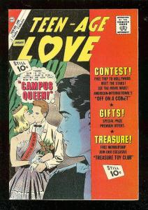 TEEN-AGE LOVE #24 1962-CHARLTON ROMANCE COMICS VF
