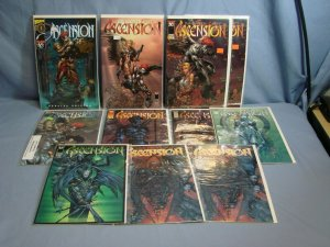 11 ASCENSION Comic Books Image Top Cow #1 Variants Dynamic Force Wizard & More!!