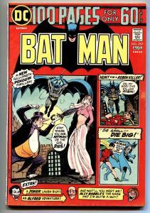 BATMAN #257 comic book 1974-PENGUIN-JOKER-DC COMICS - GIANT