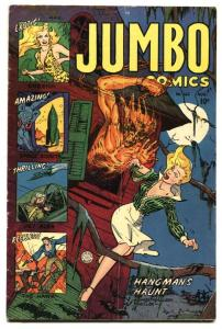 JUMBO #162 Fiction House 1952 Horror issue-Sheena-PCH Golden-Age