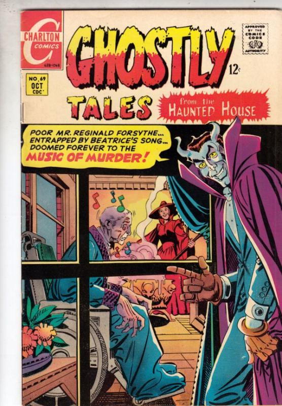 Ghostly Tales  #69 (Oct-68) VF+ High-Grade