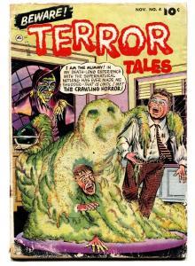 BEWARE TERROR TALES #4-PRE-CODE HORROR-1953 crawling horror!