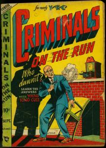 Criminals On The Run Vol. 4 #2 1948-LB Cole cover- Young King Cole G/VG