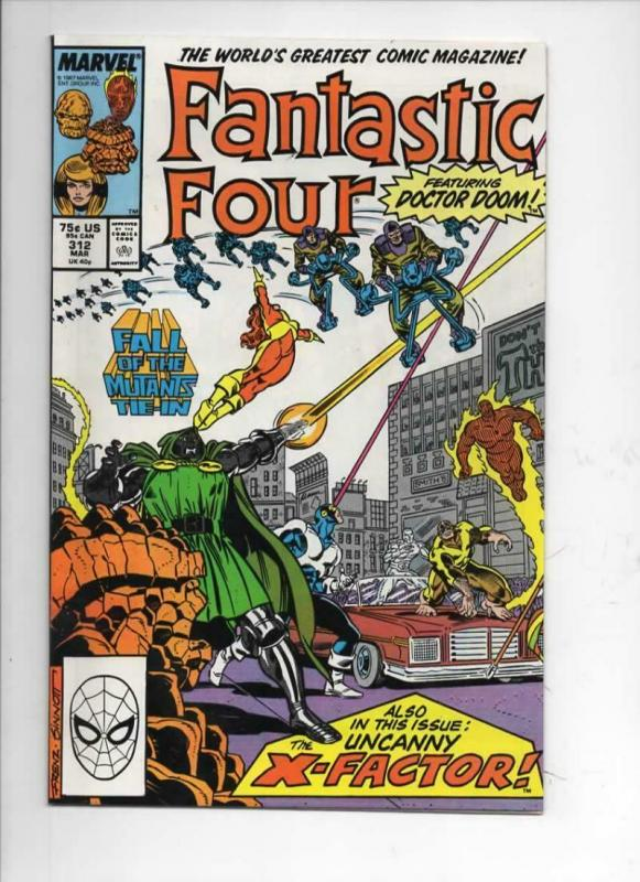 FANTASTIC FOUR #312 VF/NM Dr Doom X-Factor, 1961 1988 Marvel, more FF in store