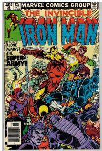 IRON MAN 127 VF+ ALCOHOL crisis Oct. 1979