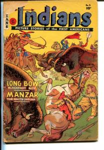 Indians #4 1950-Fiction House-Long Bow-Manzar-G