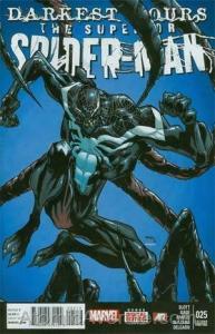 Superior Spider-Man #25 (2nd) VF; Marvel | venom - darkest hours - 2nd print