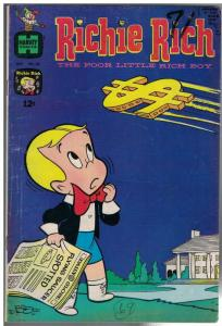 RICHIE RICH  (1960-1991) 62 VG  Oct. 1967
