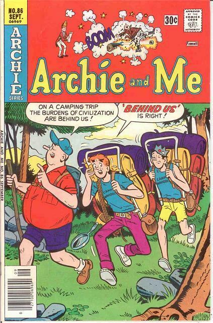 ARCHIE & ME (1964-1987)86 VF-NM   September 1976 COMICS BOOK