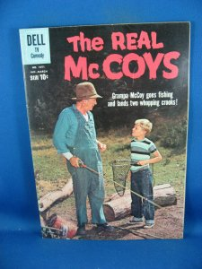FOUR COLOR 1071 THE REAL MCCOYS VF PHOTO COVER 1960 FIRST ISSUE