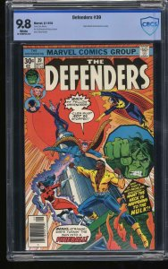 Defenders #39 CBCS NM/M 9.8 White Pages
