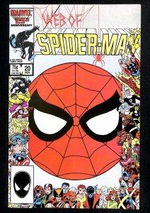 Web of Spider-Man #20 NM- 9.2