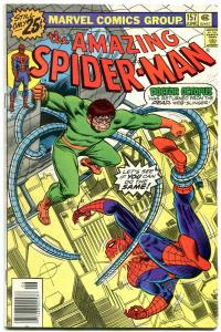 AMAZING SPIDER-MAN #157 1976-MARVEL COMICS-DOCTOR OCTOPUS FN