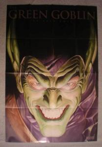 GREEN GOBLIN Promo Poster, Alex Ross, 24x36, 2008, Unused, more in our store