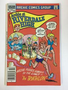 ARCHIE AT RIVERDALE HIGH (1972-1987)105 VF Oct 1985 COMICS BOOK