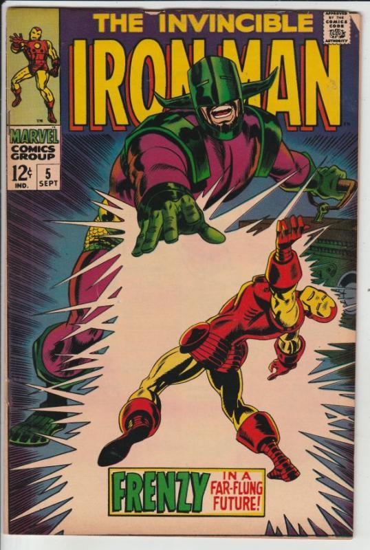 Iron Man #5 (Sep-68) VF+ High-Grade Iron Man