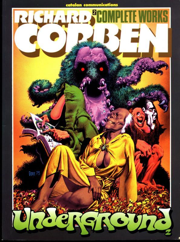 RICH CORBEN,Complete Works Underground 2, Catalan,Heavy Metal,Werewolf Monsters
