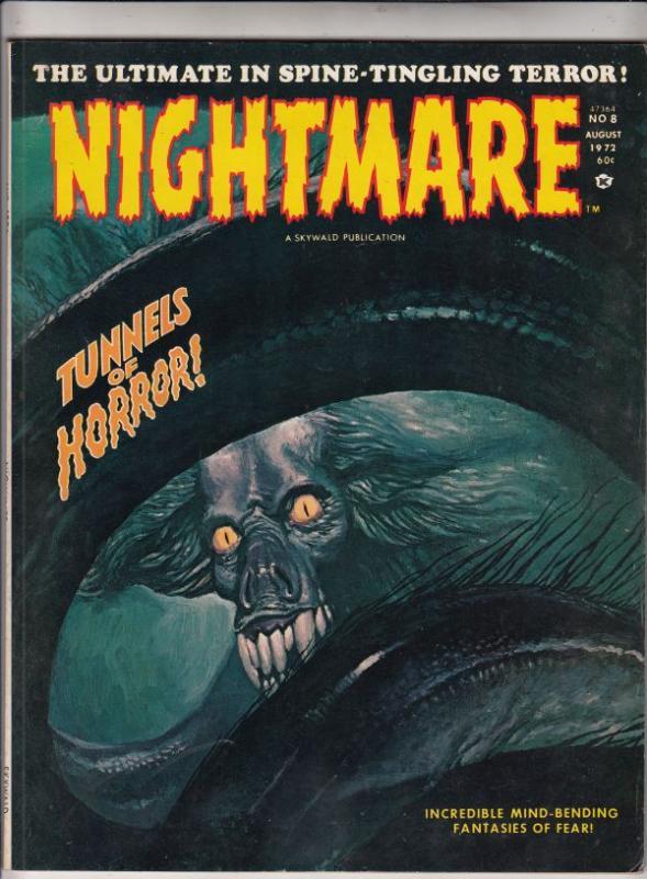 Nightmare Magazine #8 (Aug-72) VF/NM High-Grade