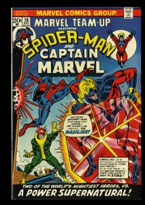Marvel Team-up #16 NM 9.4 Comics Spider-Man Captain Marvel!
